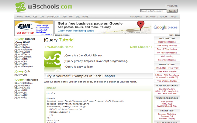 JQuery Tutorial for Beginners Nothing But the Goods